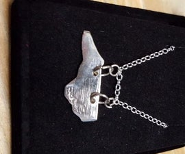 Silver Necklace From US Kennedy Half Dollar