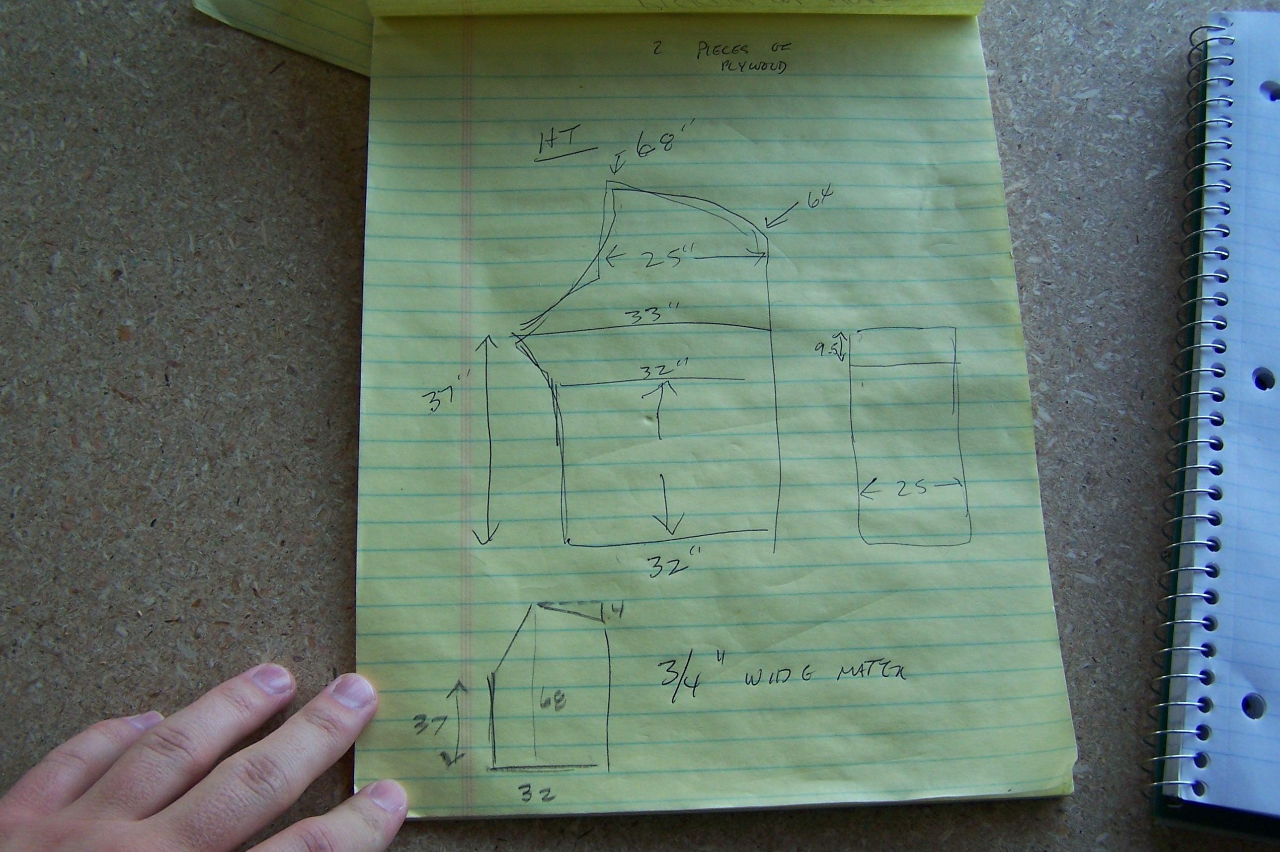 Picture of Taking Measurements and Drawing Plans (measure Twice, Cut Once)