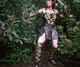 DIY Xena Warrior Princess Costume