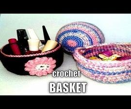 CROCHET BASKET   DIY
