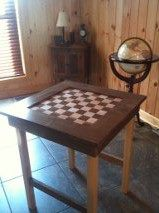 Picture of Checkerboard Table
