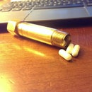 Manly Brass Pill Case