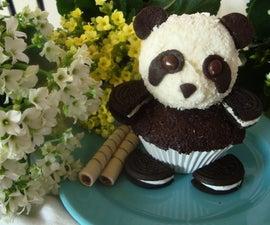 Panda CupCake