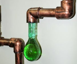 Liquid Light Steampunk Art