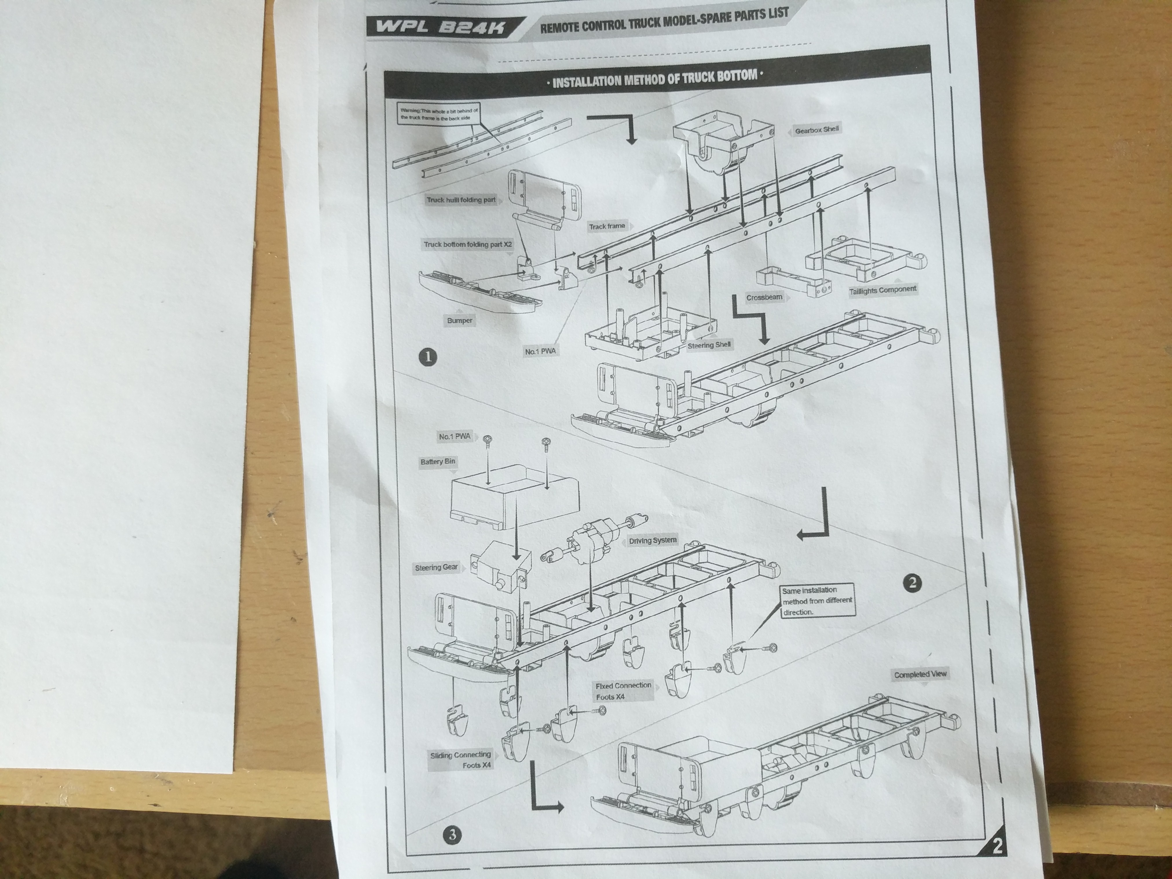 Picture of Building the Truck Part 1