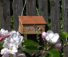 Reclaimed Wood Bee Box