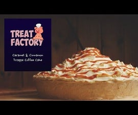 Caramel & Cinnamon Frappé Coffee Cake