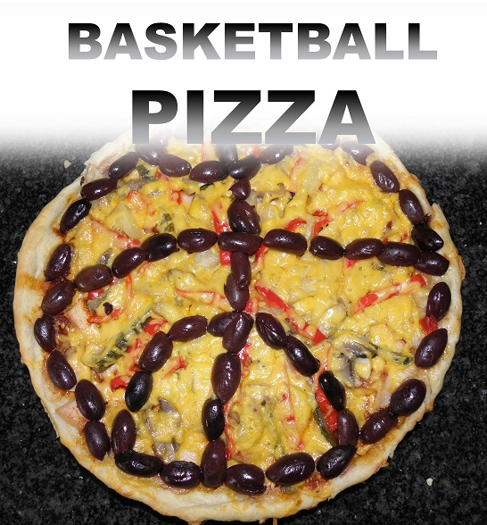 Picture of BASKETBALL PIZZA