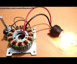 Make a Powerful Generator From a Dead BLDC Motor: