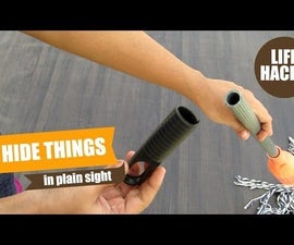 Life Hacks - Hide Things in Plain Sight, Hide Money at Home, Where to Hide Money in Your House