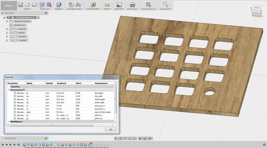 Draw a CAD Model (or Adjust Mine)