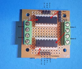 How to Build an L293D Motor Board Controller for Arduino