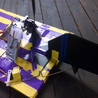 Duct Tape RC Airboat