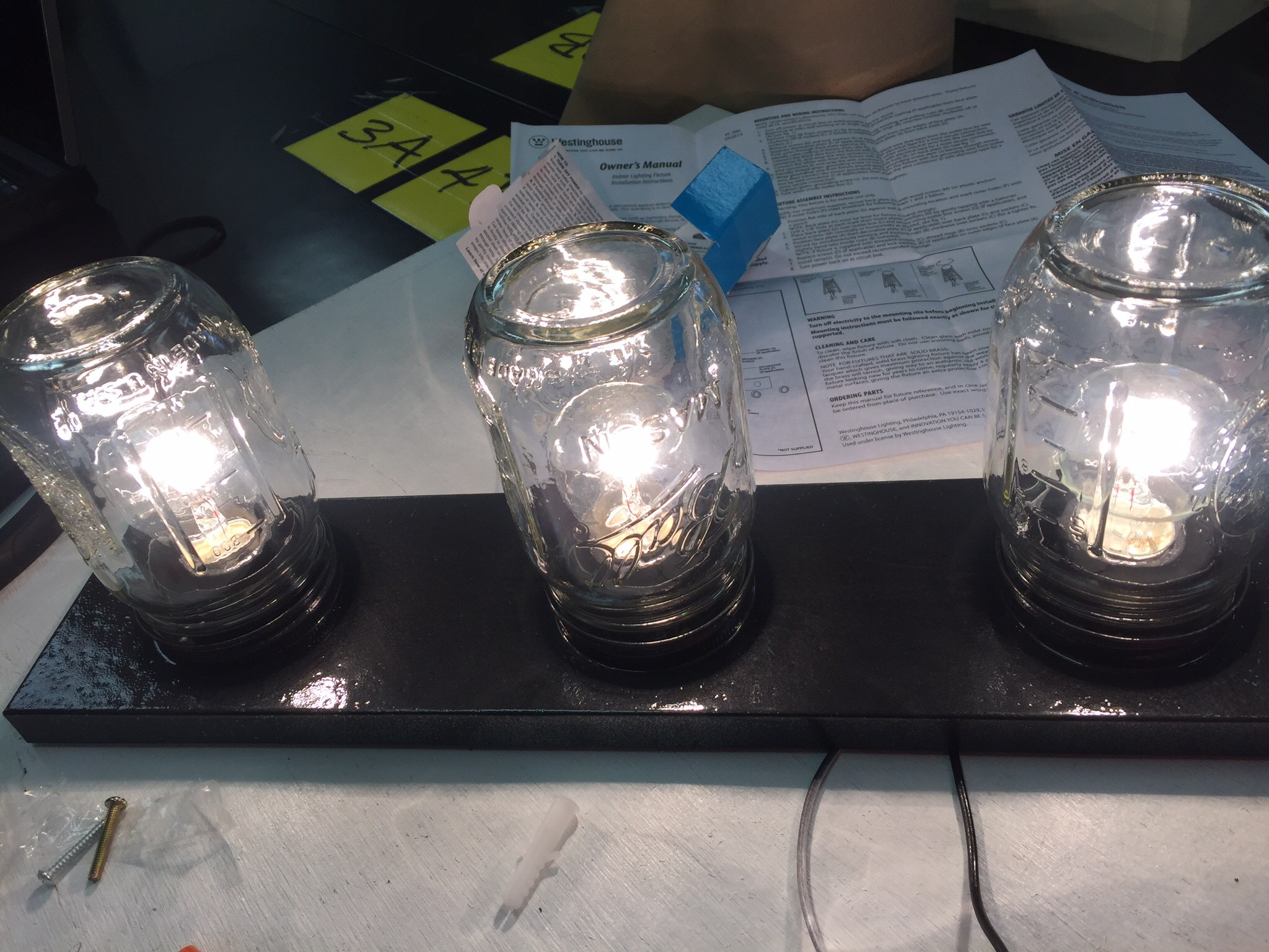 Picture of How to Make a Mason Jar Light Fixture