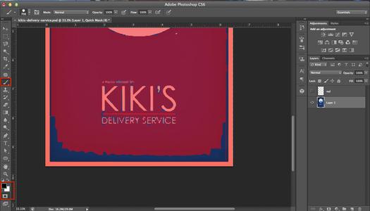 Kiki's Delivery Service: Part 2 (Photoshop)