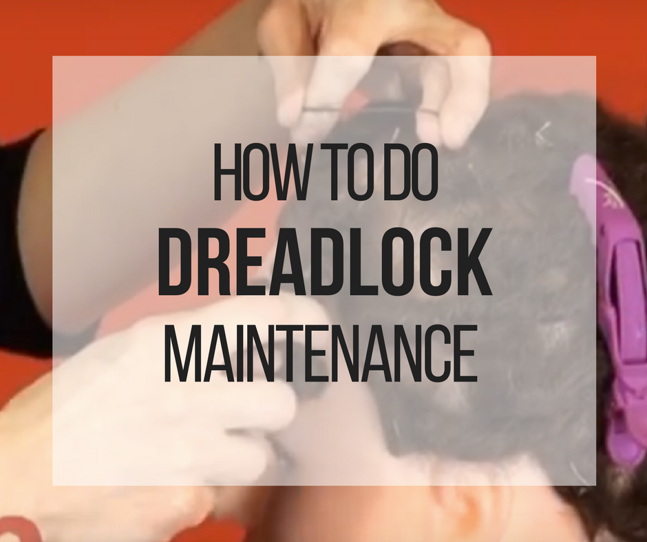 Picture of How to Maintain and Tighten Human Hair Dreadlocks