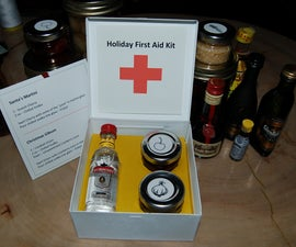 """Holiday """"First Aid Kit"""""""