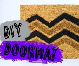 How to make a Doormat