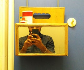 Portable Bathroom Shelf
