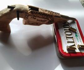 Bolt Action Miniature Pistol--The Wolf--