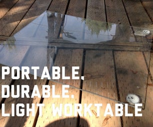 Portable, Durable, Light Worktable
