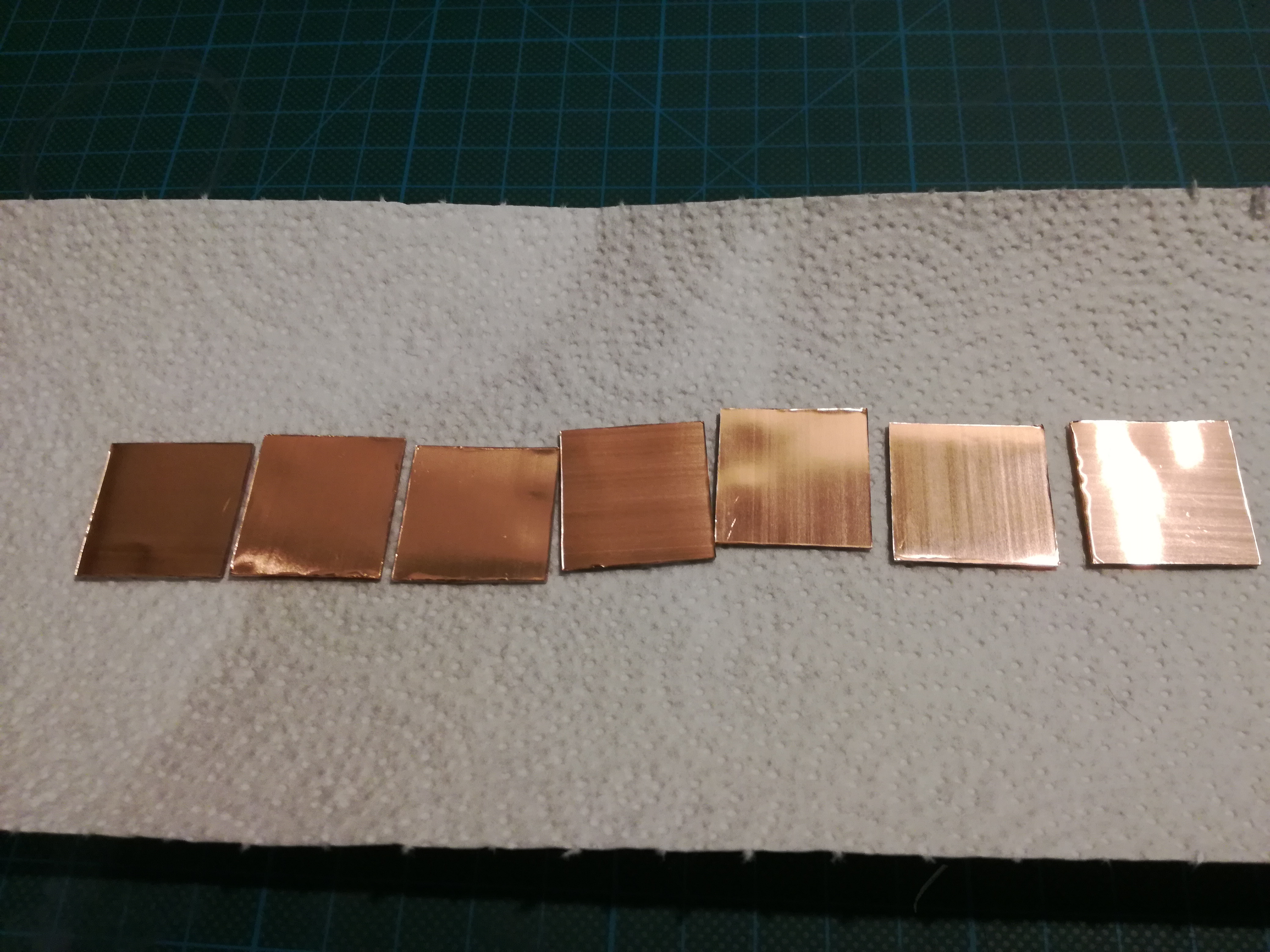 Picture of Making a Copper Clad on Glass