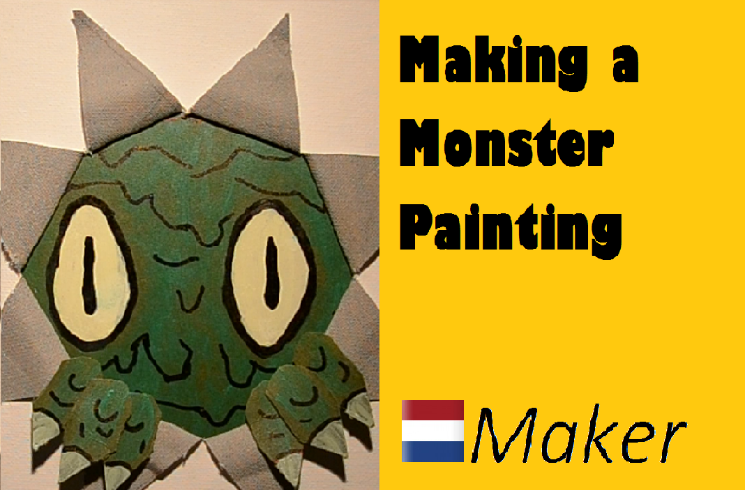 Picture of Making a Monster Painting
