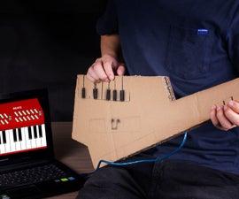 How to DIY a Playable Keytar With Cardboard