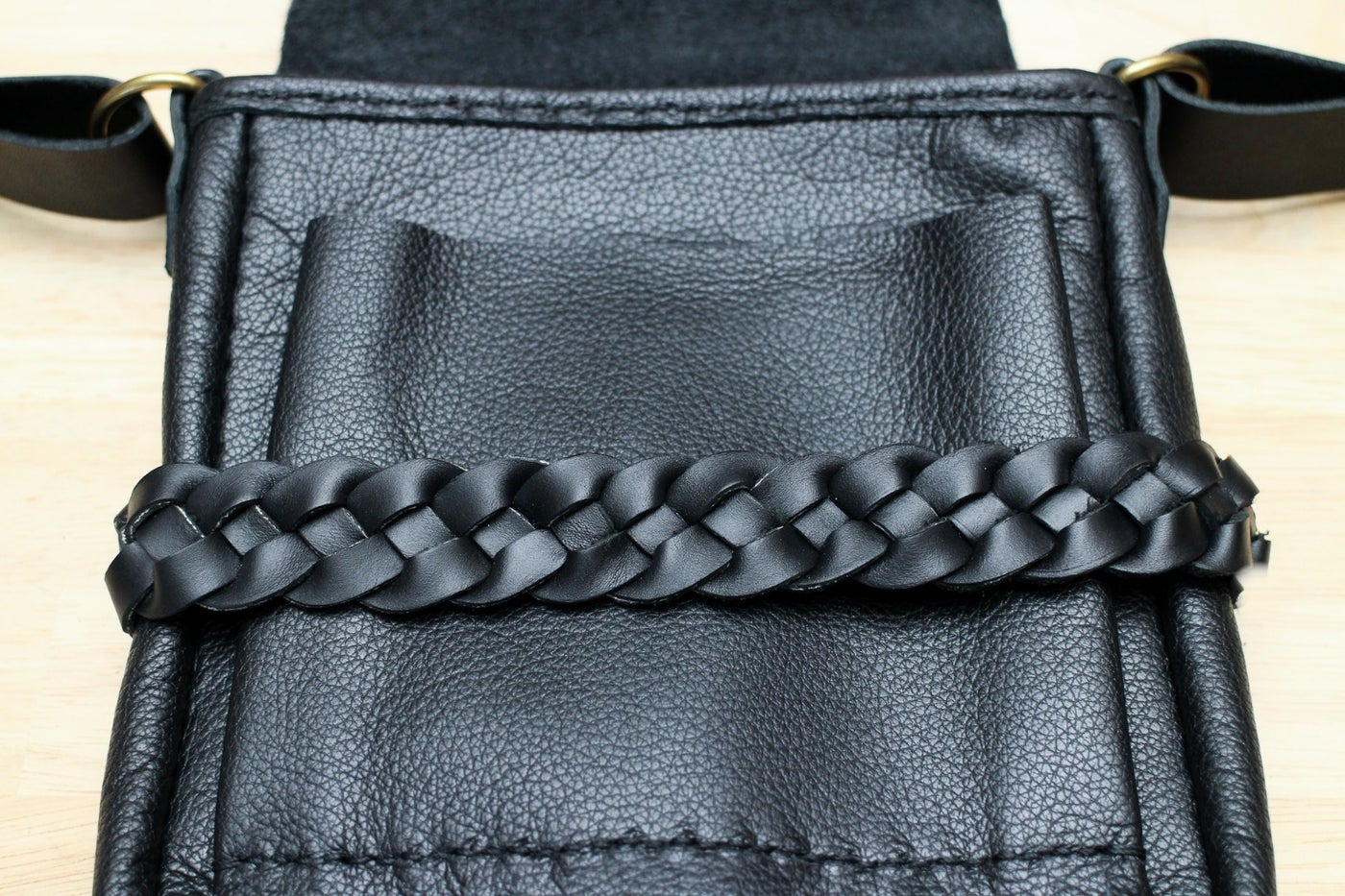 Make a Braided Cross Strap for Your Bag