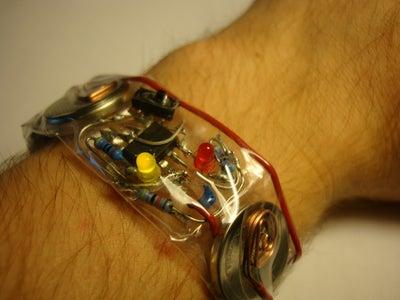 $2 Nerdy Clear Cirucit Bracelet