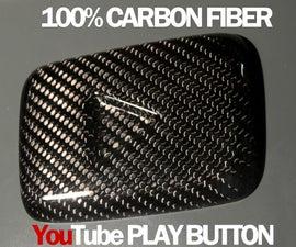 Carbon Fiber YouTube Button
