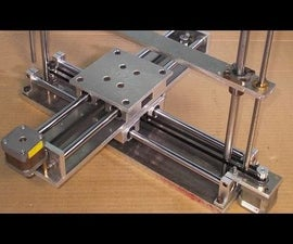 Homemade RepRap Prusa 3D Printer DIY X Y Z Axis Slide Linear Stage Frame Aluminium Alloy