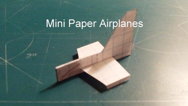 Mini Paper Airplanes
