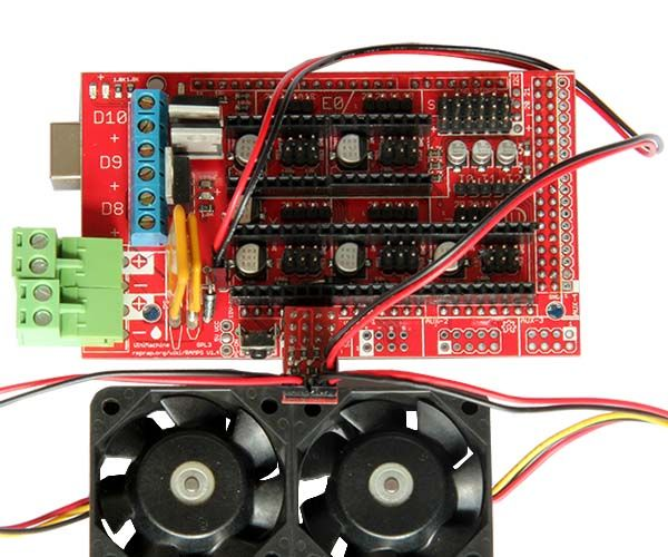 Configuring and Using Reprap Ramps1 4 RRD Fan Extender: 3 Steps