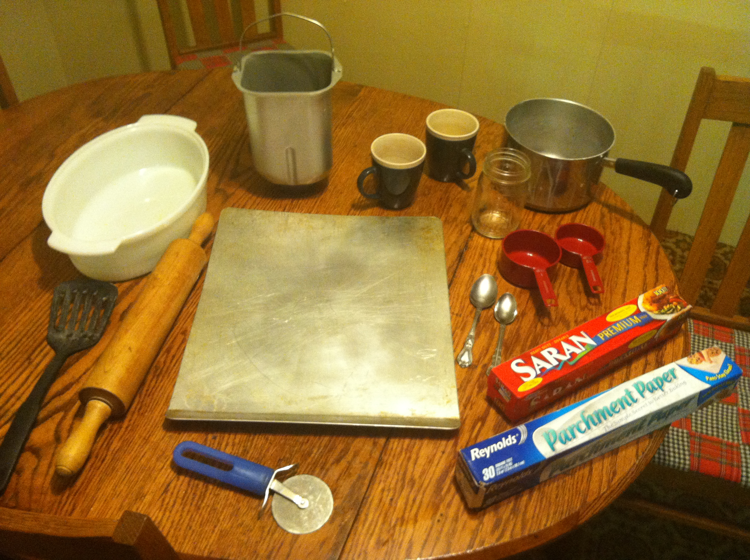 Picture of Gathering Ingredients and Utensils