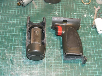 The Motor Mount and Pistol Grip