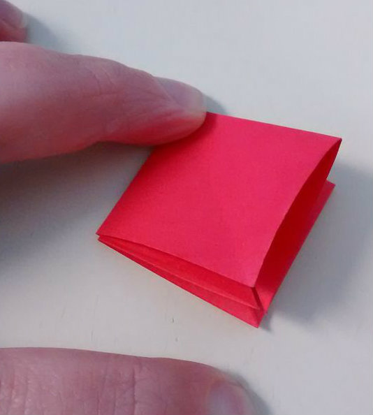 Picture of Folding Step 1