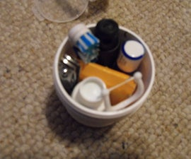 Ultimate tiny camping hygiene kit.
