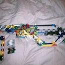 K'nex Assault Rifle With Removable Clip