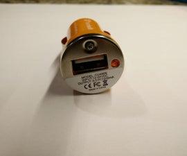 Inexpensive 5 volt Switching Power Regulator