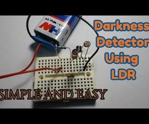 Dark Detector Using BC547 Transistor