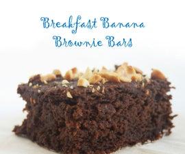 Breakfast Banana Brownie Bars