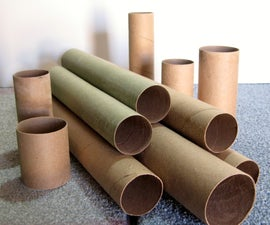 Make your own Kraft Paper Tubes
