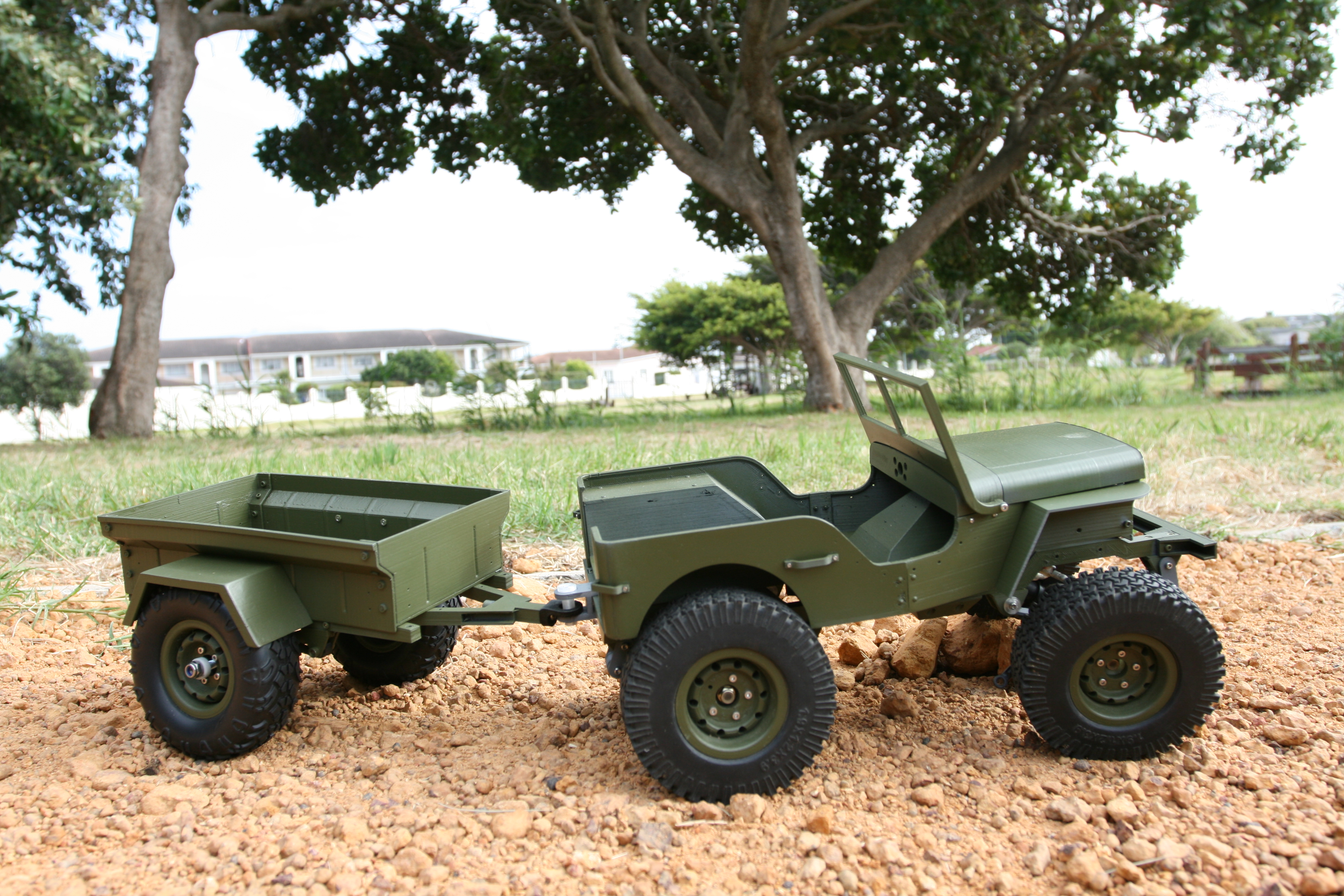 Picture of Assemble Trailer: Frame and Tub