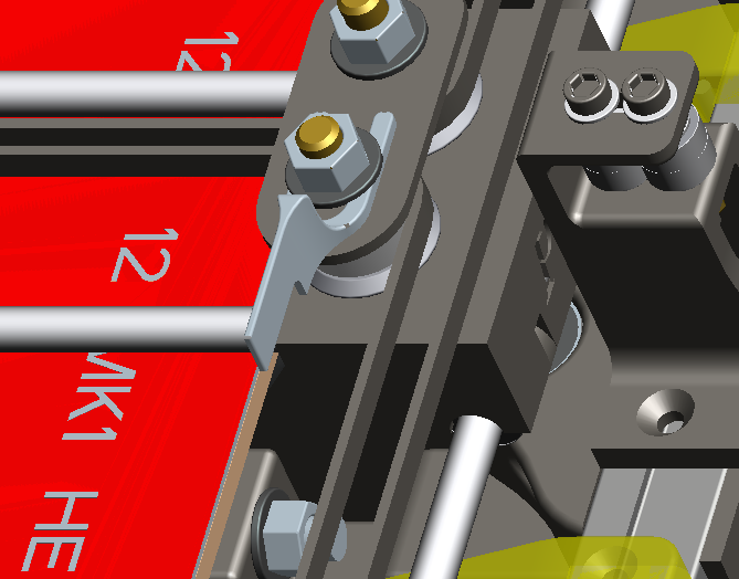 Picture of Endstops, and Extending Stepper Motor, Endstop, and Heatbed Wiring