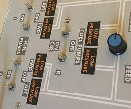 Arduino Leonardo/Micro As FSX/Flight Sim Panel