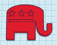 Picture of Republican Elephant