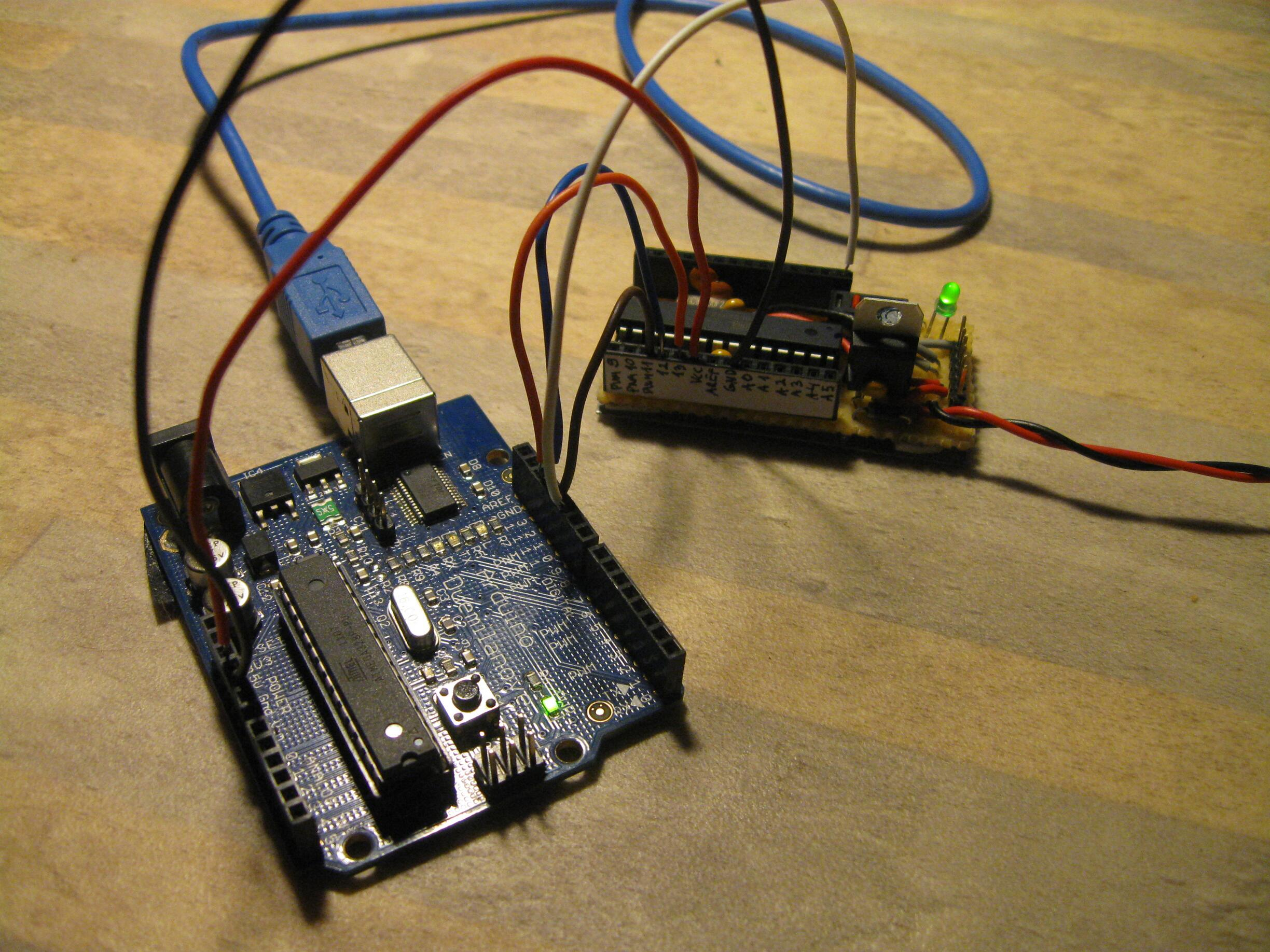 Picture of About Burning Bootloader to ATmega