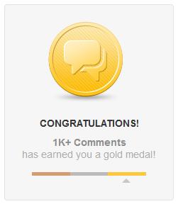 Comment Achievements