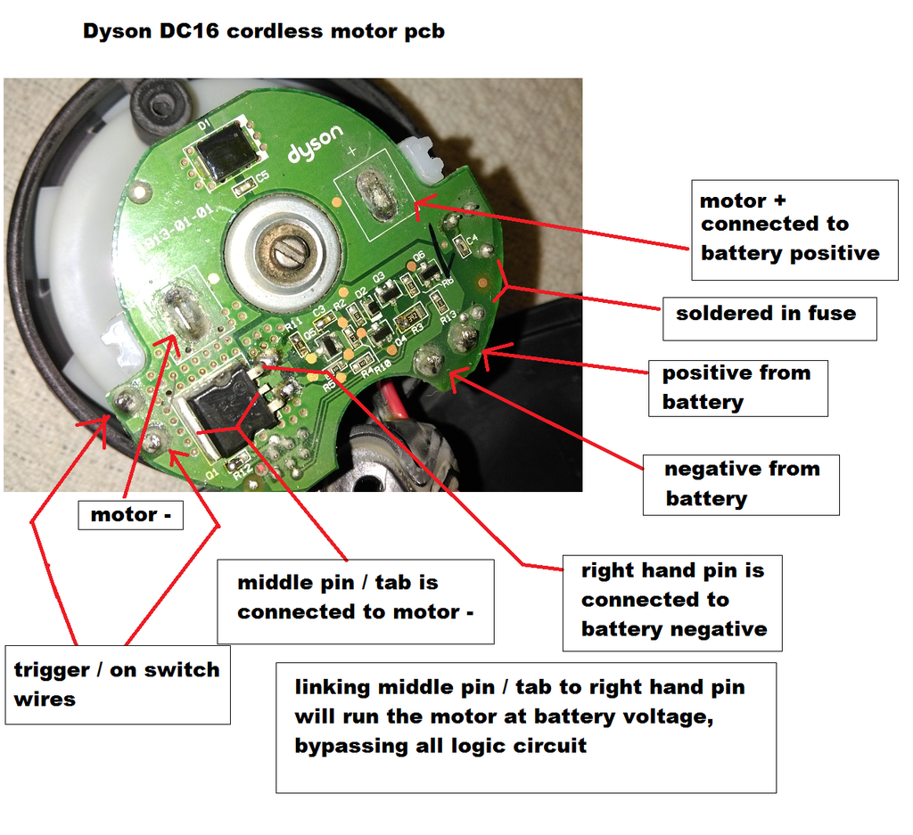 [SCHEMATICS_44OR]  Dyson Dc16 Cordless: Alternative Powering Options, Fix, Modding Tips Info,  Problems Etc : 8 Steps (with Pictures) - Instructables   Dyson Wiring Diagram      Instructables